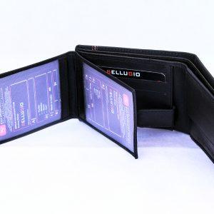 Горизонтальный бумажник BELLUGIO с прошивкой