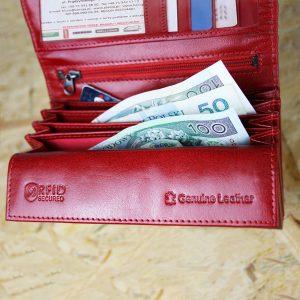 Элегантный кошелёк Red/Black